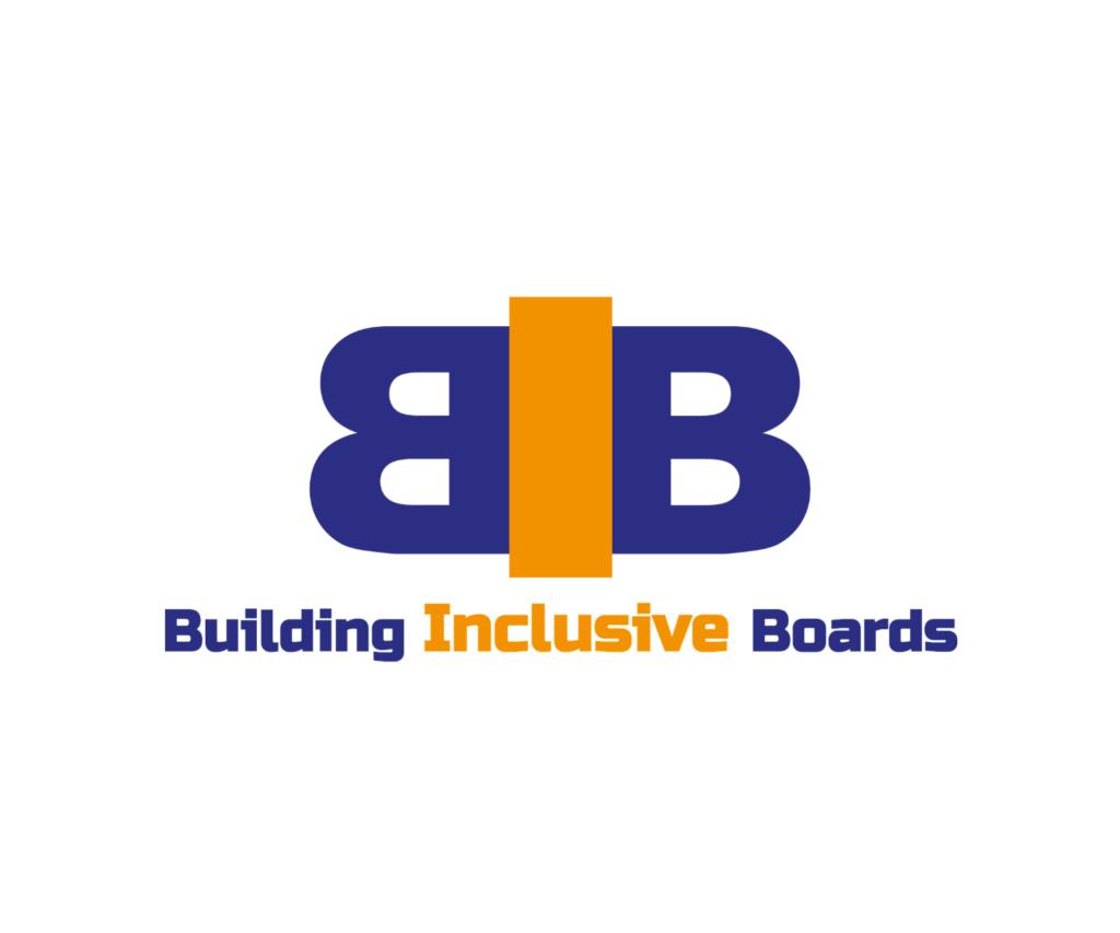 Building Inclusive Boards logo - I AM SQUARED