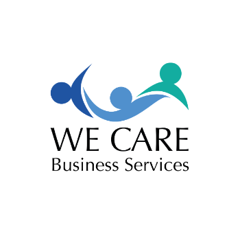 We Care Business Services logo - I AM SQUARED