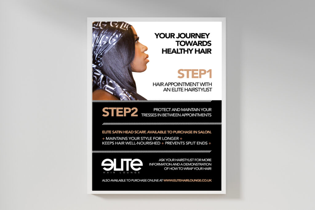 Elite Salon Poster by I AM SQUARED